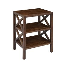 Global Archive X Side Accent Table