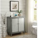 Hollywood Glam Silver Accent Cabinet Product Image