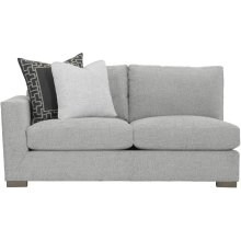 Nicolette Left Arm Loveseat in Mocha (751)