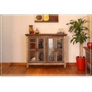 """50"""" Console w/4 glass doors Product Image"""