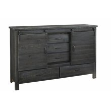 Door Dresser - Charcoal Finish