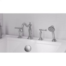 Quentin Deck Mount Tub Filler with Hand Shower  American Standard - Polished Chrome