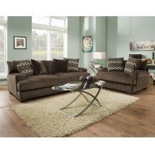1600 Ultimate Chocolate Sofa