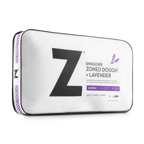 Shoulder Zoned Dough® Lavender Queen