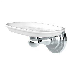 Marina Soap Dish Holder in Chrome Product Image