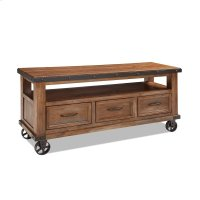 Solid Pine and Pine Veneers with Select Hardwood Metal Accents Product Image