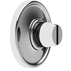Matt Black Chrome Bathroom coin release, concealed fix