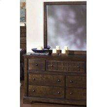 Drawer Dresser - Walnut Finish