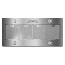"48"" Custom Hood Liner - Stainless Steel"