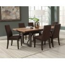 Spring Creek Industrial Natural Walnut Five-piece Dining Set Product Image