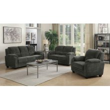 Northend Casual Charcoal Loveseat
