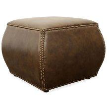 Living Room Cordova Leather Ottoman