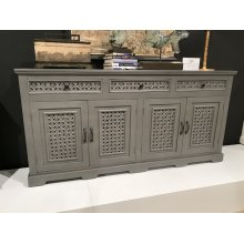 "Decker 32"" Console-antique Grey"