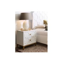 Chelsea by Rachael Ray Night Stand w/ Lattice