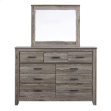Zelen - Warm Gray 2 Piece Bedroom Set