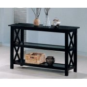 Merlot Double Shelf Sofa Table Product Image