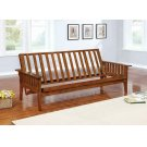 Traditional Dirty Oak Futon Frame Product Image