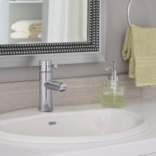 Aqualyn Countertop Bathroom Sink - White