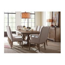 Monteverdi by Rachael Ray Complete Rect. Trestle Table