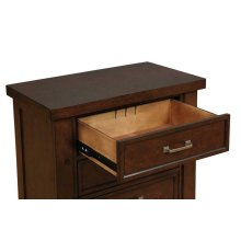 Barstow Transitional Pinot Noir Nightstand