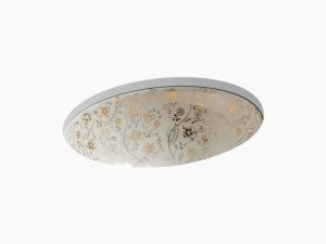 Mille Fleurs Under-mount Bathroom Sink Product Image