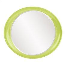 Ellipse Mirror - Glossy Green