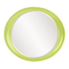 Ellipse Mirror - Glossy Green