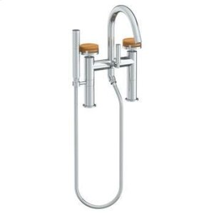 Deck Mounted Exposed Bath Set With Hand Shower Product Image
