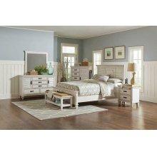 Franco Antique White California King Bed