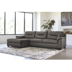 Carrillo - Gray 2 Piece Sectional