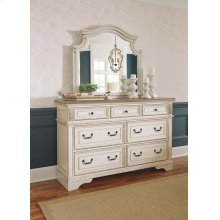 Realyn - Chipped White Dresser & Mirror
