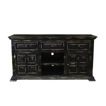 "Charleston Black 60"" TV Stand"
