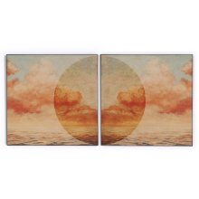 Sunrise I & II Diptych By Coup D'esprit