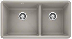 Blanco Precis 1-3/4 Bowl - Concrete Gray Product Image