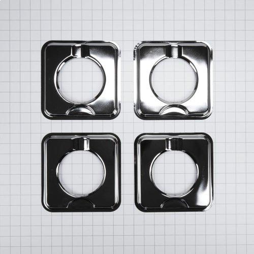 Square Gas Range Burner Drip Bowls