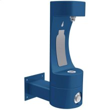 Elkay Outdoor EZH2O Bottle Filling Station Wall Mount, Non-Filtered Non-Refrigerated Blue