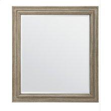 European Cottage Landscape Mirror - Khaki