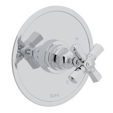 Polished Chrome San Giovanni Pressure Balance Trim Without Diverter with Cross Handle