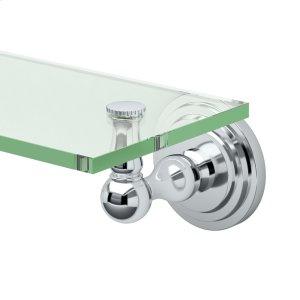 Marina Glass Shelf in Chrome Product Image