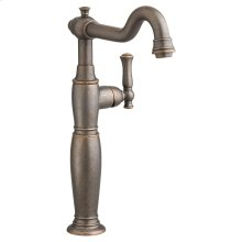 Quentin 1-Handle Monoblock Vessel Bathroom Faucet - Oil Rubbed Bronze