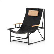 Ebony Natural Cover Judson Sling Chair