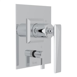 Polished Chrome Vincent Pressure Balance Trim With Diverter Product Image