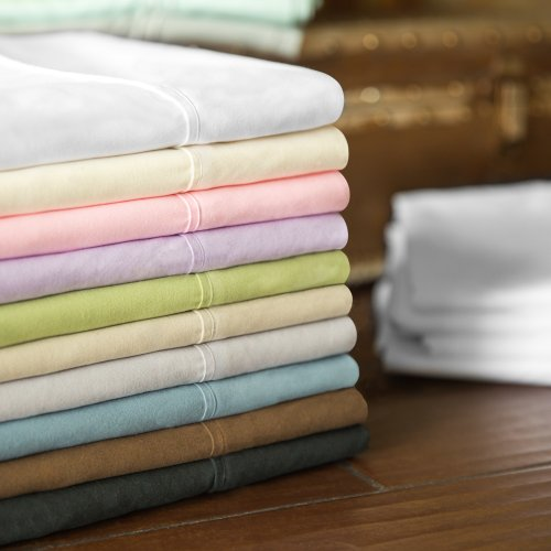 Brushed Microfiber Queen White