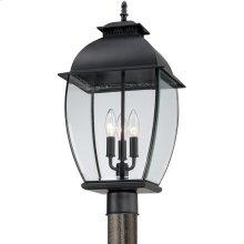 Bain Outdoor Lantern in Mystic Black