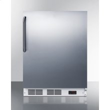 ADA Compliant Built-in Medical All-freezer Capable of -25 C Operation In Complete Stainless Steel
