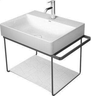Durasquare Metal Console Wall-mounted Chrome Product Image