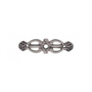 Newton Backplate 3 3/16 Inch - Pewter Antique Product Image