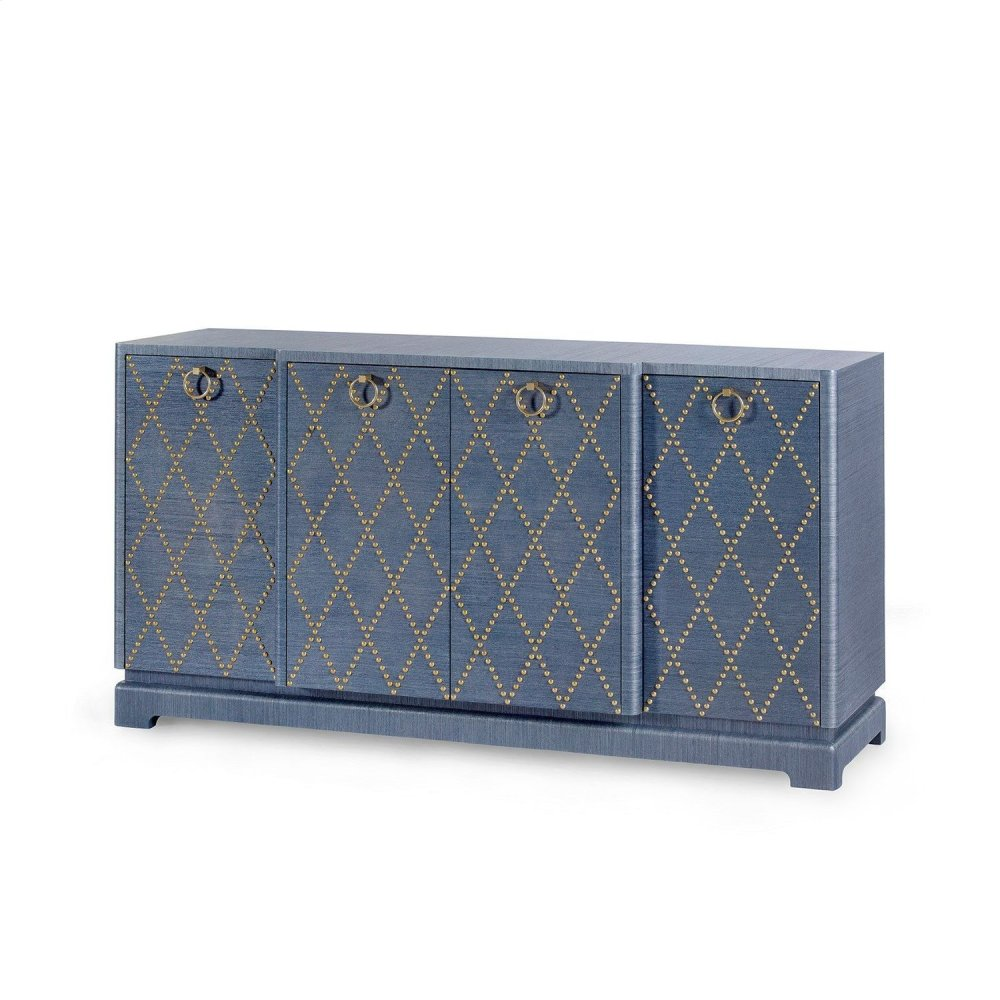 Janak Large Cabinet, Blue