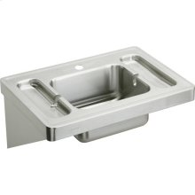 "Elkay Stainless Steel 28"" x 20"" x 7-1/2"", Wall Hung Lavatory Sink"