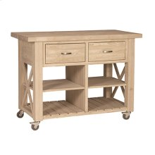 WC-12B X-Side Kitchen Island